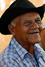 Smiling old man, Trinidad, Cuba by David Carton