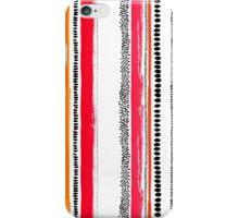 Ink stripes iPhone Case/Skin