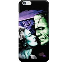 Bride & Frankie Monsters in Love iPhone Case/Skin