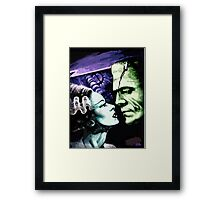 Bride & Frankie Monsters in Love Framed Print