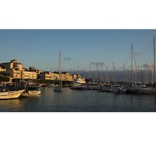 Sailing Out Of Syracuse, Sicily  Photographic Print