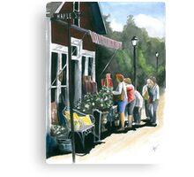 Daisy Shopping Canvas Print