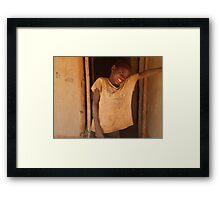 Dumisani, Malawi Framed Print