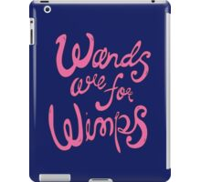 Wimps iPad Case/Skin