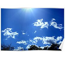 Rays of Sun Poster