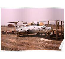 Iraqi War Jet Poster