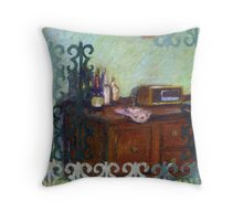 Secured Side Bar Throw Pillow