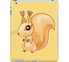 Cute cartoon squirrel iPad Case/Skin