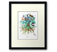 Follow me to Neverland Framed Print