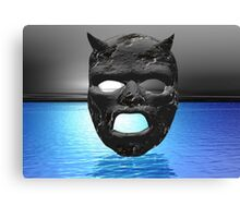 Moon Mask Canvas Print