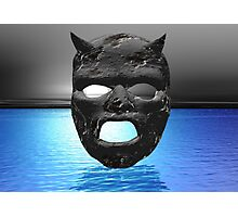Moon Mask Photographic Print