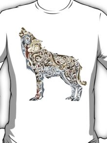 wolf - wild animal. Colorful wolf artwork T-Shirt