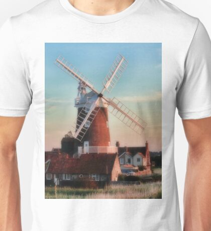 Cley windmill Norfolk Unisex T-Shirt