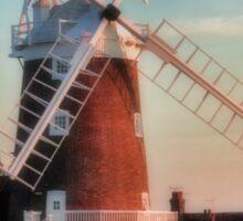 Cley windmill Norfolk Sticker