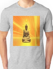 Golden Buddha Unisex T-Shirt