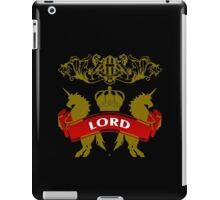 Fit For A Lord Coat-of-Arms iPad Case/Skin