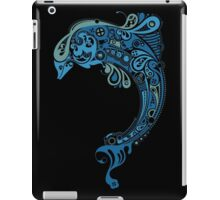 Blue dolphin - unique sea artwork   iPad Case/Skin