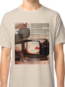 cool geeky tech Retro Vintage TV television Nostalgia Classic T-Shirt