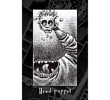 Head Puppet Photographic Print