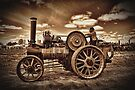 Jem General Purpose Engine in sepia by Avril Harris