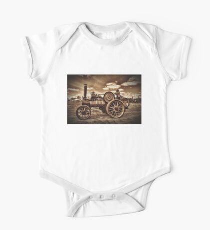 Jem General Purpose Engine in sepia One Piece - Short Sleeve