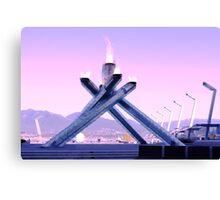 Vancouver 2010 Olympic Cauldron Canvas Print
