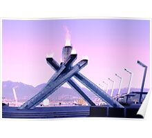 Vancouver 2010 Olympic Cauldron Poster