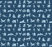 Mythological Creatures by naviblue