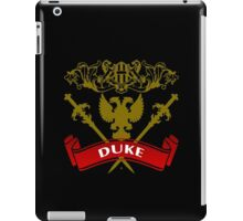 Fit For A Duke Coat-of-Arms iPad Case/Skin