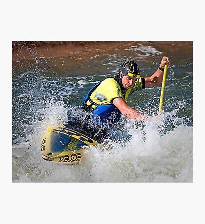 White Water Rush Photographic Print