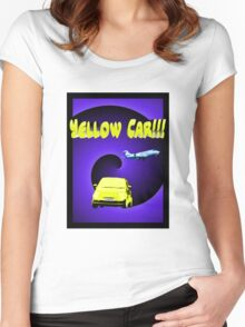 Yellow Car!!! Women's Fitted Scoop T-Shirt