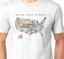 United States of Music Unisex T-Shirt