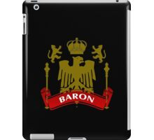 Fit For A Baron Coat-of-Arms iPad Case/Skin