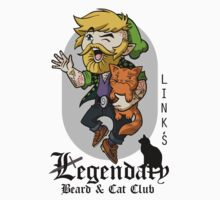 Link's Legendary Beard and Cat Club Kids Clothes