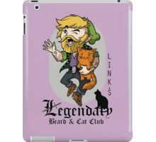 Link's Legendary Beard and Cat Club iPad Case/Skin