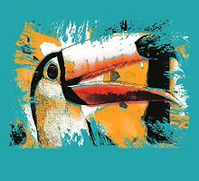 tropical toucan by arteology