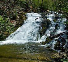 Indian Creek Falls by Gary L   Suddath