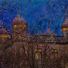 Night Turrets by enchantedImages