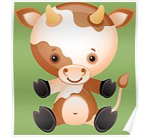 Calf like a doll Poster