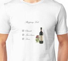 Shopping List Unisex T-Shirt