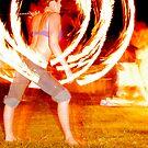 Fire series 4 by Paul Mercer-People
