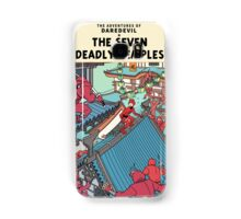 The Adventures of Daredevil: The Seven Deadly Temples Samsung Galaxy Case/Skin