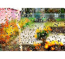 autumn water painting Photographic Print