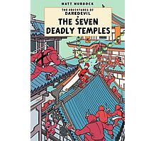 The Adventures of Daredevil: The Seven Deadly Temples Photographic Print