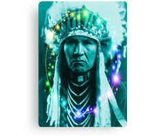 Magical Indian Chief Canvas Print
