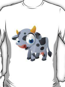 Cute goggle-eyed calf T-Shirt