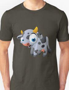 Cute goggle-eyed calf Unisex T-Shirt