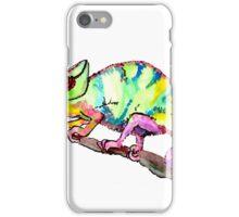 Comma Chameleon iPhone Case/Skin