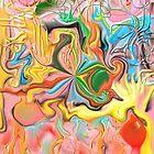 """Intestinal Whirls"" Print by jaartist29"