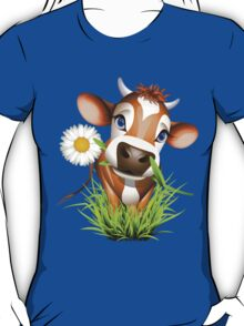 Cute cow has a gift for you T-Shirt